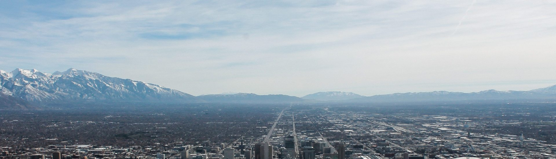 Salt Lake City from above. More posts from this place to come!