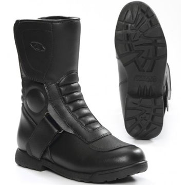 Girls motorcycle boot with waterproof membrane