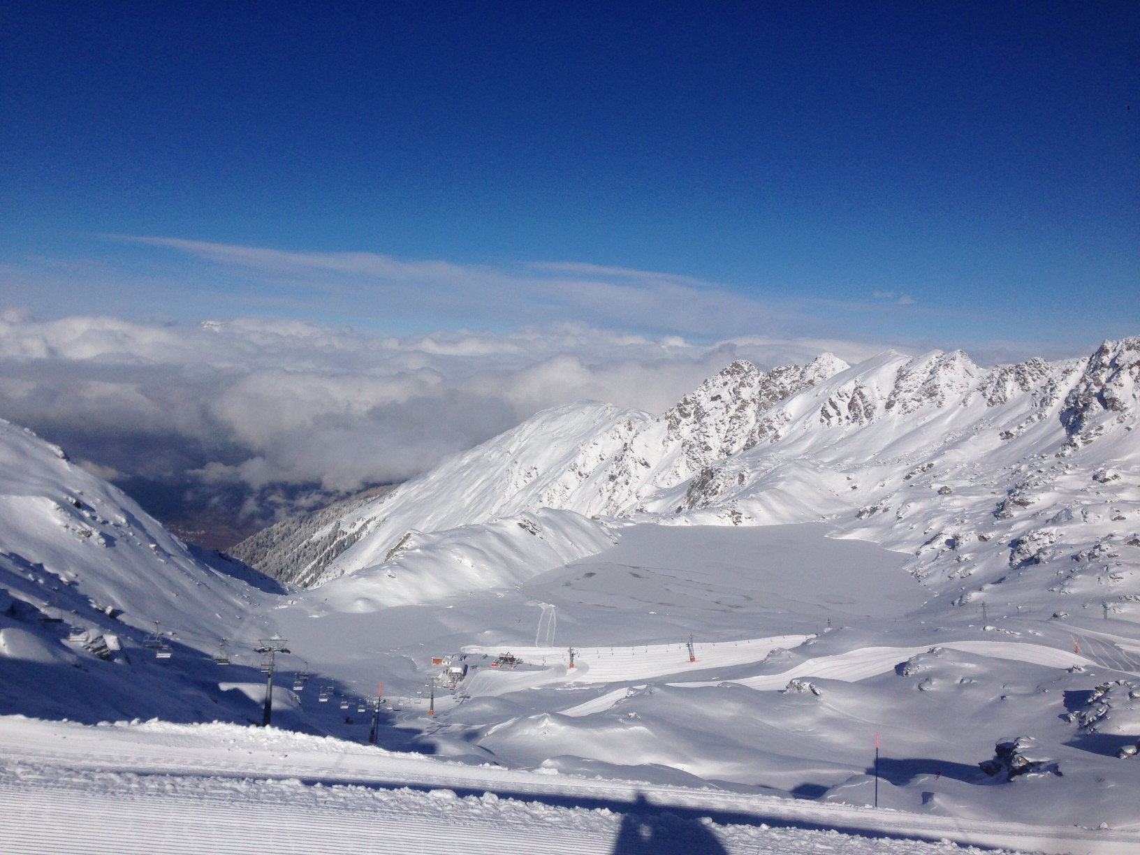 Snow Conditions Excellent Snow Conditions In Verbier!