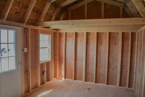 Medium Of Shed With Loft
