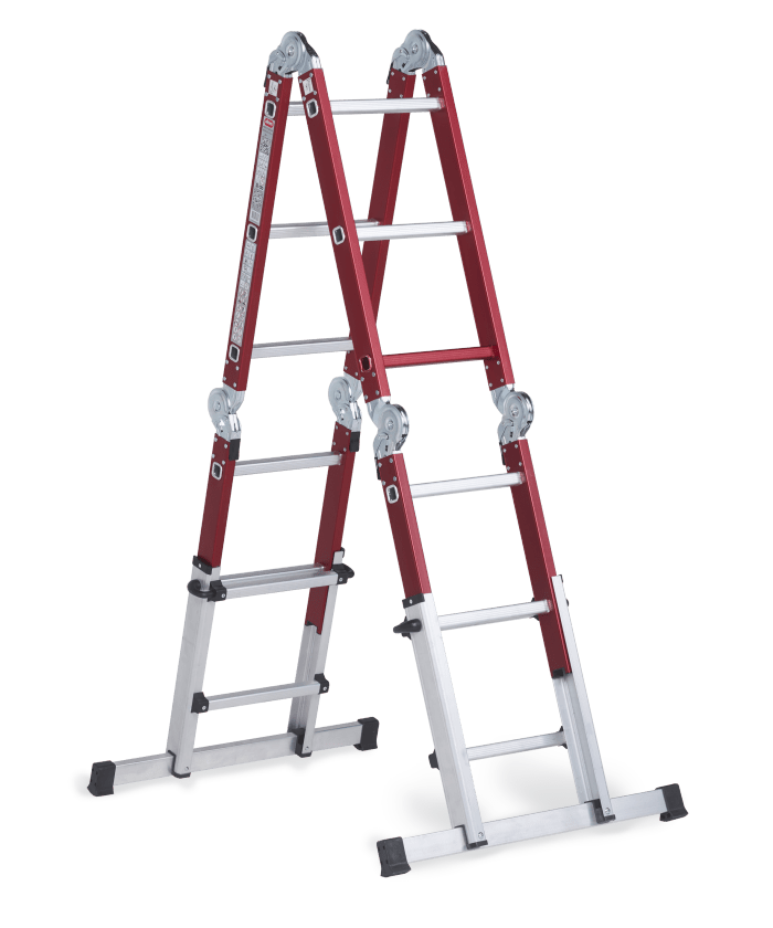 Altrex Ladder Altrex Varitrex Do-it-all | Telescopic Folding Ladder