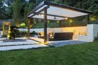All New Equinox louvered Roof system patio Cover ...