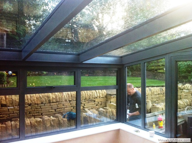 Glass Front Door Privacy Glass Roofs And Rooms | Aluminium Frame Co