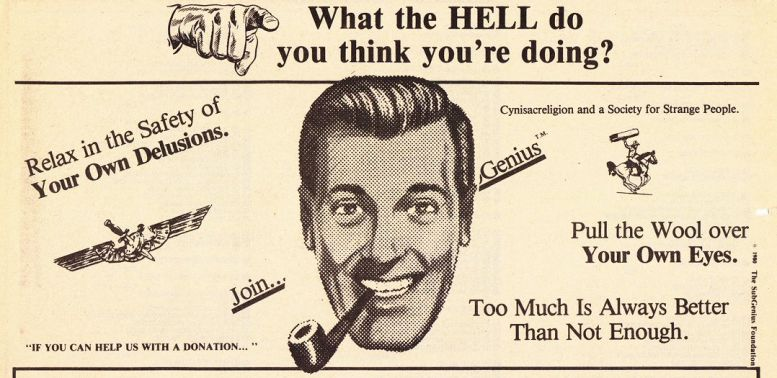 SubGenius appetizer