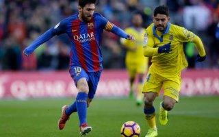 برشلونة يكتفي بخماسية في شباك لاس بالماس ويواصل الضغط على ريال مدريد في الليغا