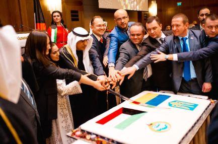سفارتنا في أوكرانيا تقيم حفل استقبال بمناسبة الأعياد الوطنية