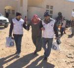 """متطوعو """"الهلال الأحمر"""" يبذلون جهودا حثيثة لإغاثة اللاجئين السوريين"""