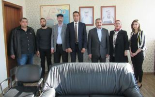 """الشيخ مبارك الدعيج يتفقد مكتب """"كونا"""" في العاصمة اللبنانية بيروت"""