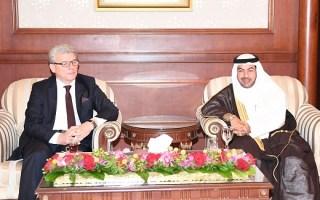 رئيس مجلس النواب البوسني يصل الكويت في زيارة رسمية