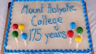 cake celebrating MHC's 175th anniversary