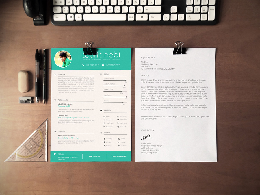 03_free-graphic-designer-resume-template - School of Business Alumni - Free Graphic Design Resume Templates