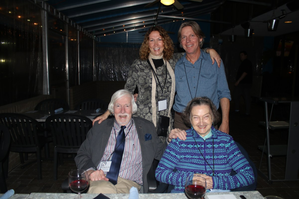 Ed and Jane Yoder with their daughter Anne Yoder and son-in-law Dave Hart. Photo by Alex Kormann