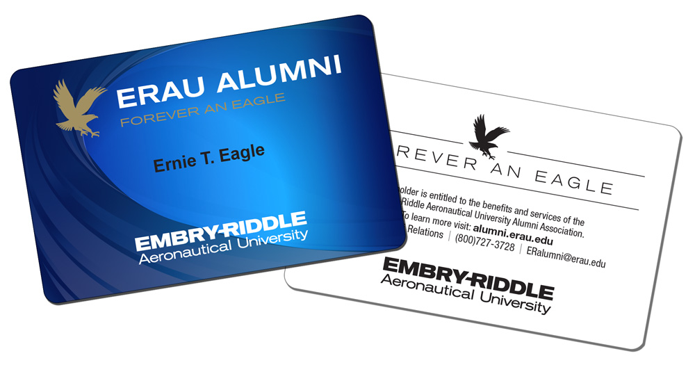 Embry-Riddle Office of Alumni Engagement - Alumni Card