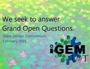 iGEM Design Competition