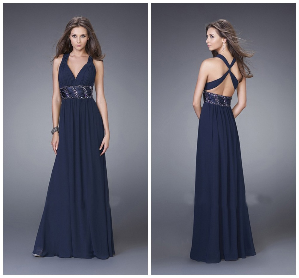 The Black Chiffon Off Shoulder Low Back Length Beads Blacktie Dress Formal Black Tie Dresses Good Dresses Black Tie Dresses Online Black Tie Dresses Petite wedding dress Black Tie Dresses