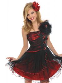 Short Dark Red Bridesmaid Dresses : 2017-2018 Fashion ...