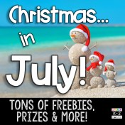 Christmas in July Linky