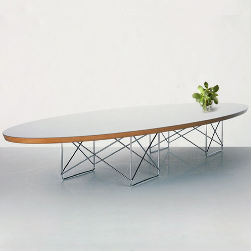 Eames Elliptical Etr Coffee Table Black Table Home