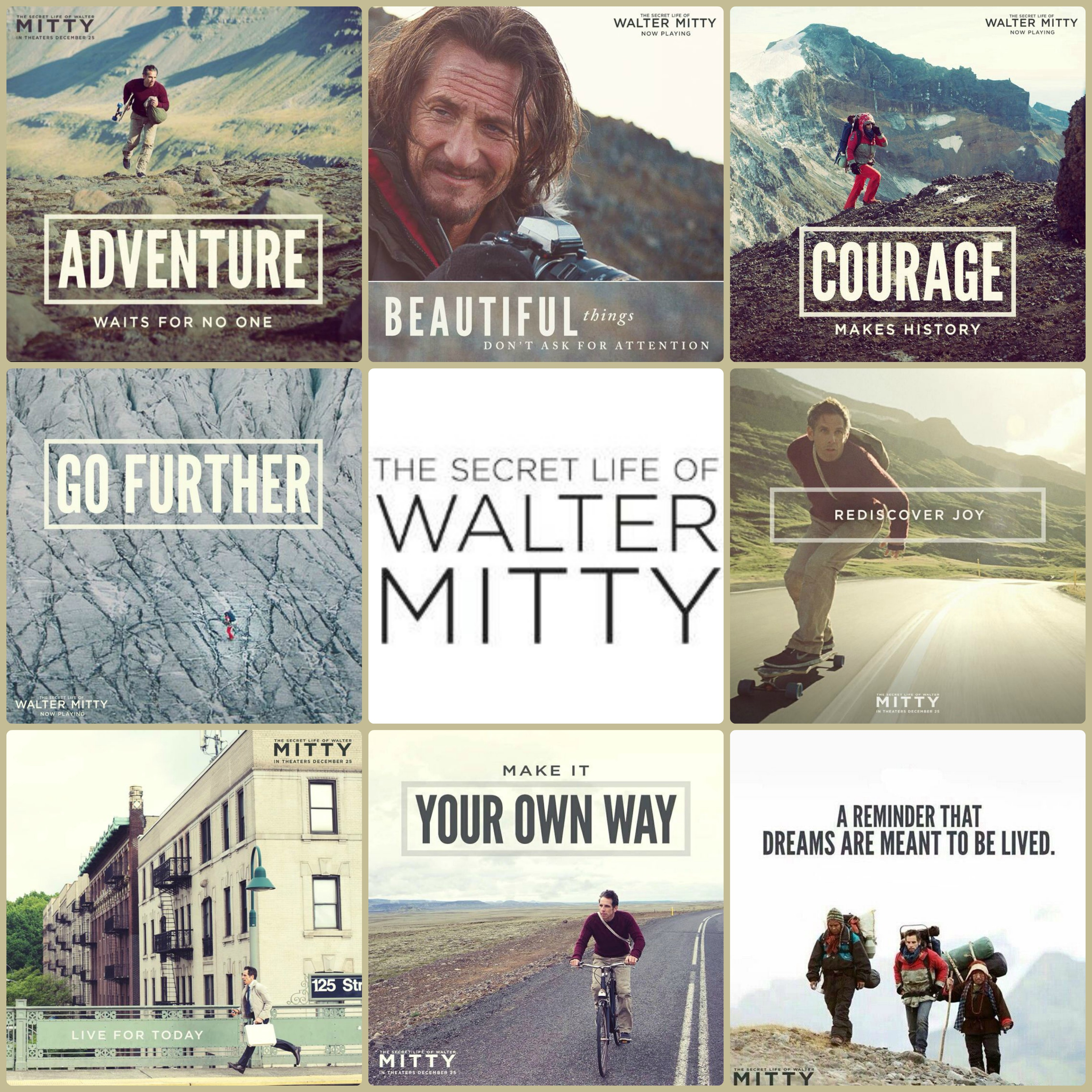 Secret Life Of Walter Mitty Quotes Wallpaper The Secret Life Of Walter Mitty Always Find Joy In The
