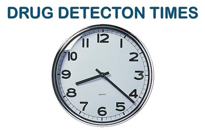 Click Here To Learn General Information On Drug Detection Times.