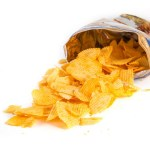 Over zout in chips