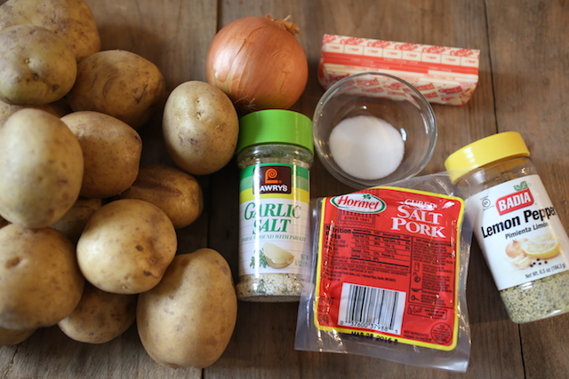 tender potatoes ingredients