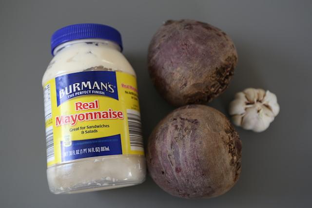 baked beet salad ingredients