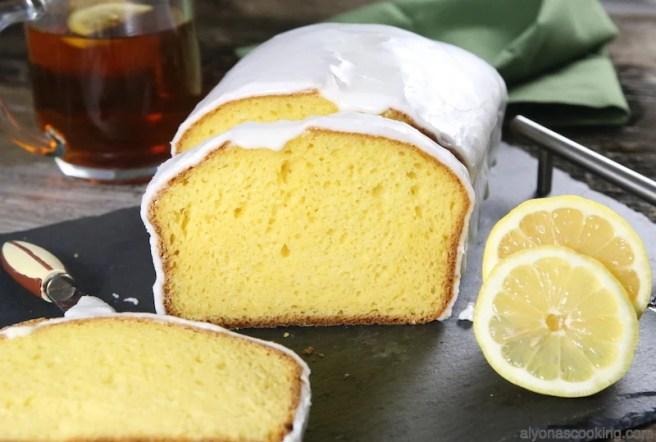 Lemon Pound cake good