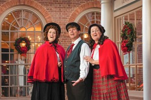 Colonial Williamsburg carolers