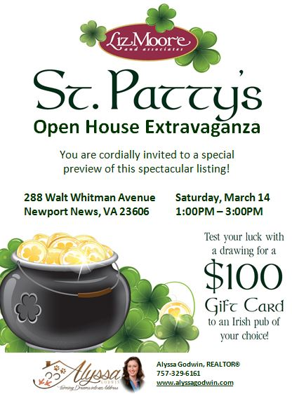 st pattys open house