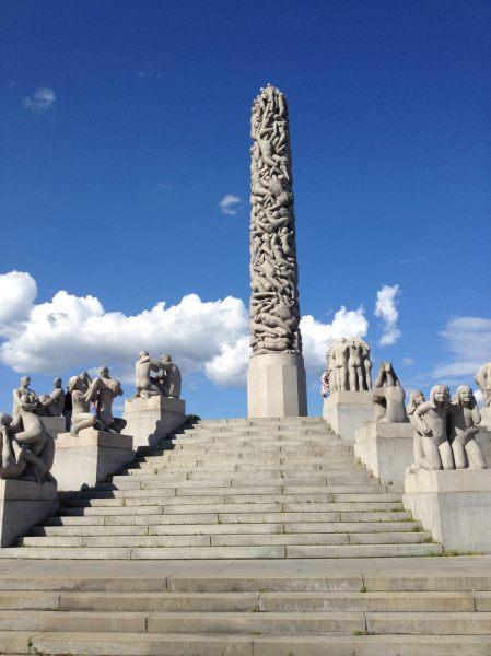 Vigeland Sculptures In Frogner Park