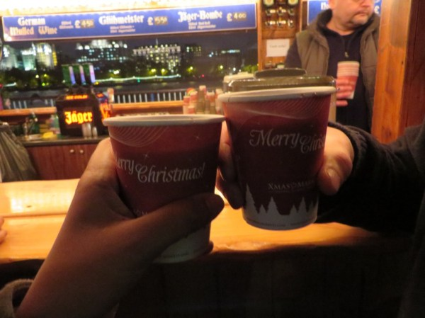 Mulled Wine, Christmas market Southbank centre, London