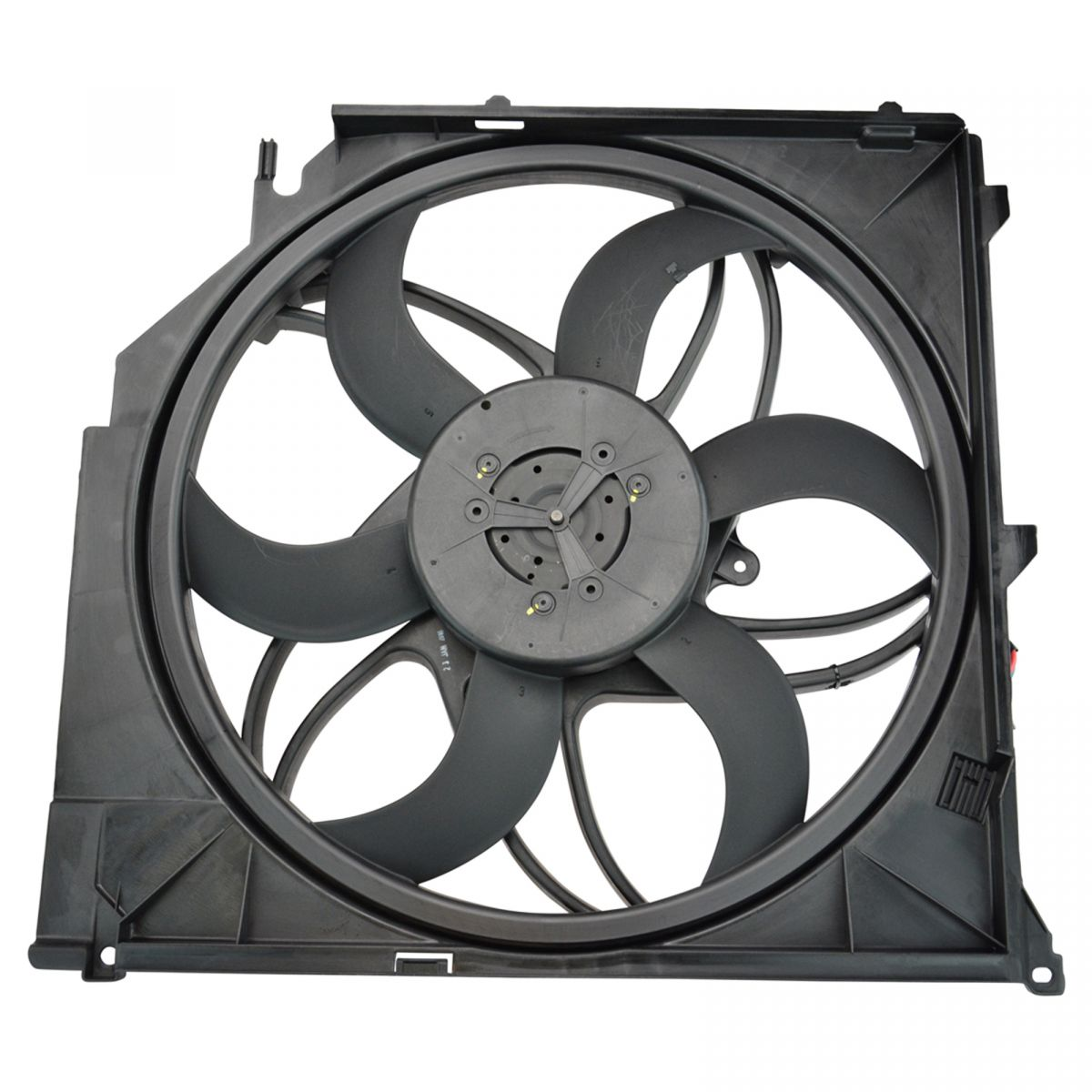 Wattage Radiator Details About Radiator Cooling Fan Assembly For 04 10 Bmw E83 X3
