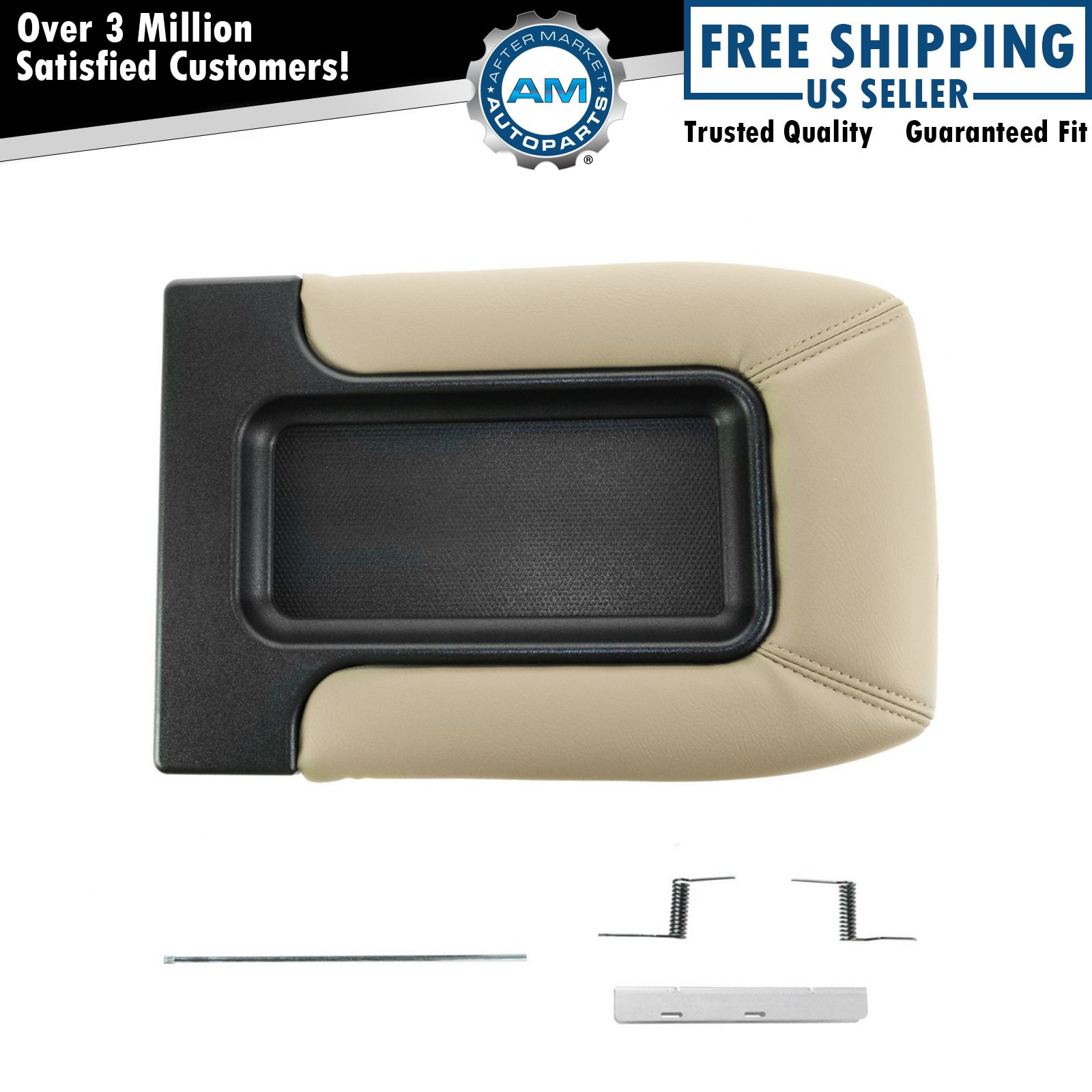 Reparation Console Dorman 924 812 Console Lid Repair Kit Tan For Chevy Gmc