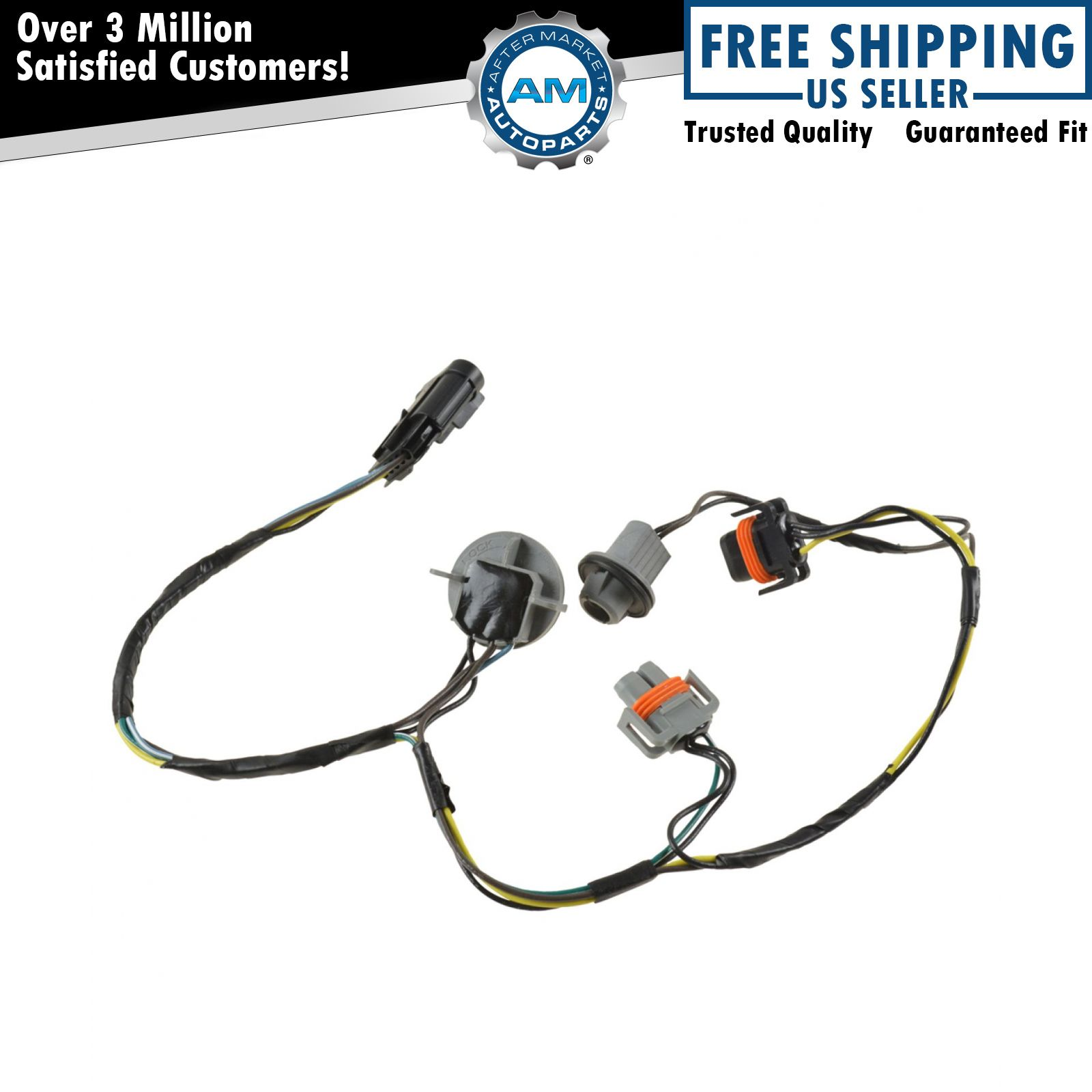 oem headlight wiring harness
