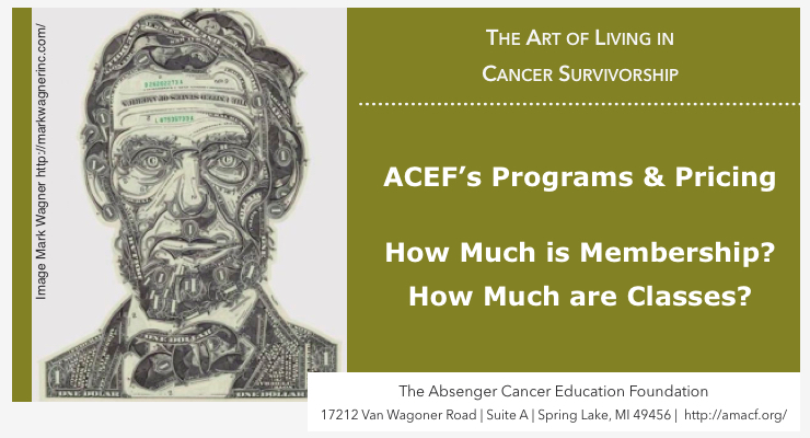 ACEF's Self-Management Programs: How Much is Membership and Classes?