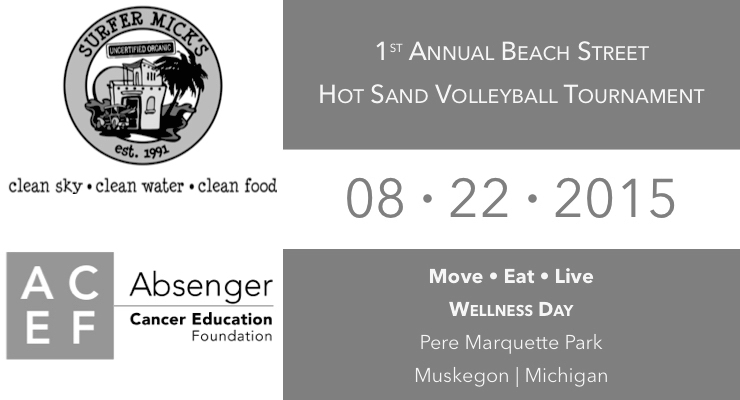 Hot Sand Beach Volleyball and Wellness Day