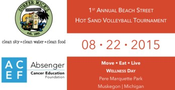 Hot Sand Volleyball Tournament Registration Page
