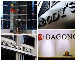 Les quatre agences de notation du monde