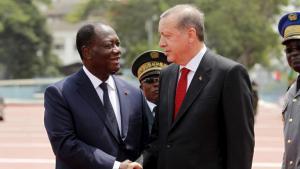 LE PRESIDENT ERDOGAN EN TOURNEE EN AFRIQUE DE L OUEST