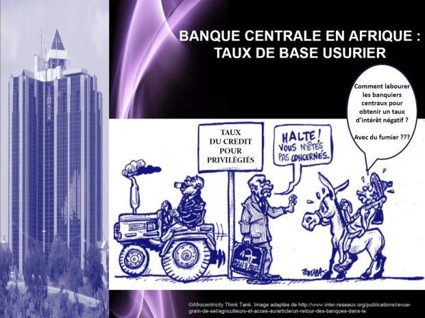 Banques centrales en afrique - taux de base usurier