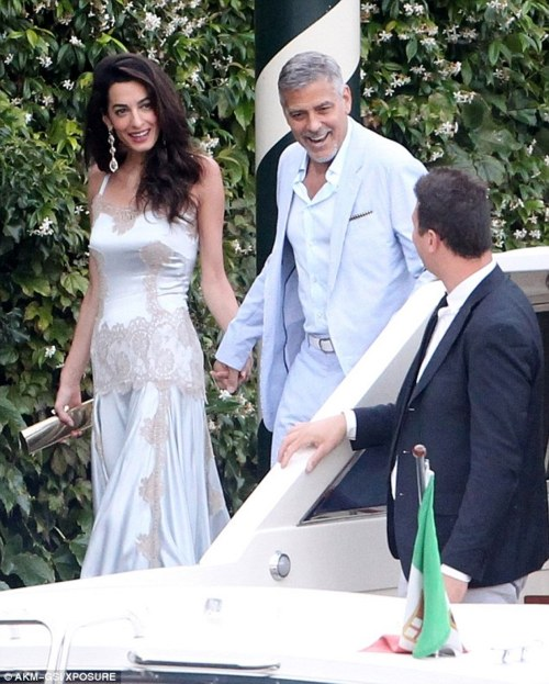 Medium Of Amal Clooney Wedding Dress