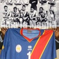 FOTO:NEWS Calcio, RD Congo: la nuova maglia Erreà ispirata ai Leopards del '68