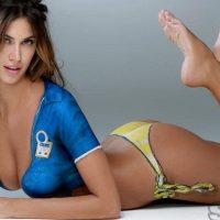 Bellezze mondiali, Gina sfida Melissa con la maglia azzurra