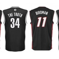 Maglie Nba personalizzate per Miami Heat e Brooklyn Nets
