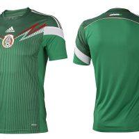 Maglia calcio Messico 2014 per i Mondiali in Brasile