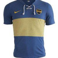 Boca, camiseta retro 2014 per i 100 anni in maglia gialloblu