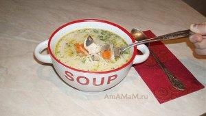 Как готовить тайский суп на кокосовом молоке с курицей и грибами- Том Ка гай