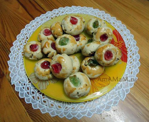 Фото рассыпчатого печенья и простой и вкусный рецепт!