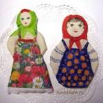 Подарок на 8 марта своими руками – куклы из соленого теста